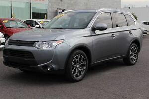 2015 Mitsubishi Outlander GT+TOIT+CUIR+GPS+7 PASSAGERS