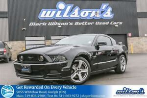 2014 Ford Mustang GT 5.0L V8! LEATHER! HEATED SEATS! SYNC BLUETO