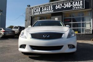 2011 Infiniti G37X Sport, AWD, BACK UP CAMERA, BLUETOOTH, LEATHE