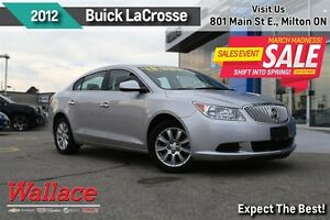 2012 Buick LaCrosse LOW KM/1-OWNER/ACCIDENT-FREE LOCAL TRADE/SUN
