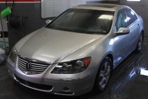 2006 Acura RL 5 SPD at Fully Loaded! LOW KMS Navi Sunroof
