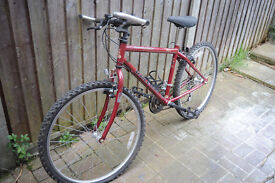 Raleigh Avalanch Bicycle Bike, 15 Speed Shimano Gears, 26 inch Tyres