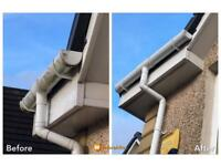 Gutter Cleaning GUTTERS Blocked?🤔 Call Us 🏡📞 07856118660