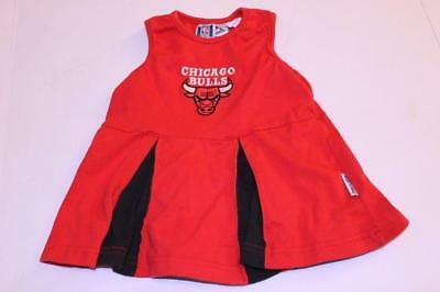 Infant/Baby Girls Chicago Bulls 12 Months Vintage Cheerleader - Chicago Bulls Dress