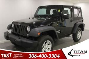 2016 Jeep Wrangler Sport|326 KMS!! BLACK|MUST SEE