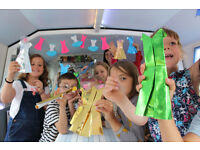 Children's Themed Birthday party venue on a boat CAMDEN