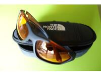 North Face Case and Smith Sunglasses