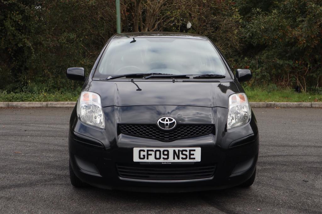 2009 Toyota Yaris TR 1.3 AUTOMATIC petrol black 92k fsh 2 prev owner hpi clear
