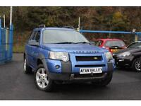 LAND ROVER FREELANDER 2.0 Td4 HSE Station Wagon 5dr Auto **FULL SERVICE HISTORY** (blue) 2004