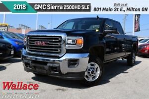 2018 GMC SIERRA 2500HD SLE/60L V8/1-OWNR/CLN HSTRY/WARRNTY/HD TR