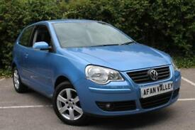 Volkswagen Polo 1,2 Match 3dr **2 OWNERS++FINANCE AVALIBLE** (blue) 2008