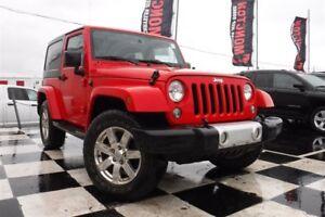 2015 Jeep Wrangler Sahara   NAV   Heated Seats   Power Mirrors  