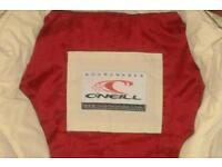 "O'Neill Designer Zipped Jacket. Size Medium. Pit to pit 18"" (36"" chest?"