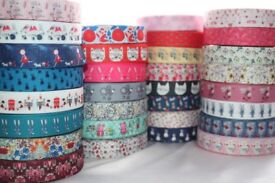 Hair Bow, crafts , dummy clip, Scarp-booking / Gruffalo / Catterpillar / Grosgrain ribbon / Ribbon