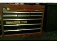 Halfords 9 draw ballbearing toolbox