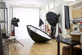 Photography Studio Hire, Film / Video/Castings/Rehearsals/near Brick Lane E1