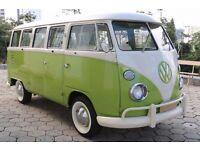 1975 Volkswagen Splitscreen Camper - VW T1 T2 Split Screen Campervan Bus Kombi