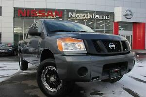 2015 Nissan Titan Spray in Bed-liner/4X4/After Market Rims