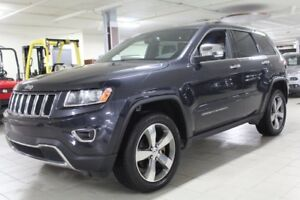 2016 JEEP GRAND-CHEROKEE LIMITED 4X4 *CUIR/TOIT/NAV/CAMERA RECUL