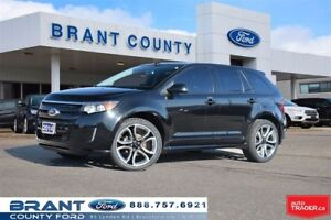 2014 Ford Edge Sport - CLEAN CARPROOF, LEATHER, NAV, ROOF!