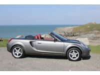 2005 Toyota MR2 1.8 VVT-i Low mileage Very good condition