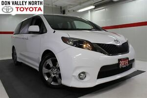 2014 Toyota Sienna SE Sunroof Btooth BU Camera Pwr Seats Wndws M