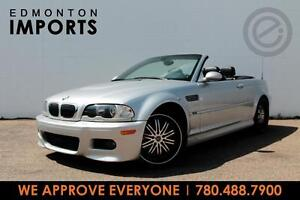 2002 BMW M3 CONVERTIBLE    ONLY 70 KMS   WE APPROVE EVERYONE