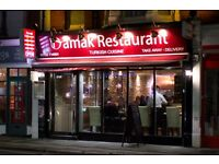 Experienced or inexperienced part time female waiting staff for Turkish Restaurant in Leigh On Sea