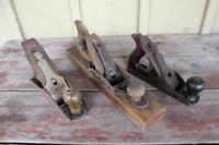 Box Lot of 3 Planes - Stanley, Bailey and Esteel