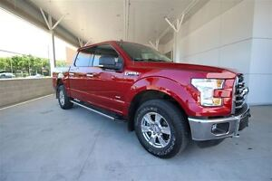 2015 Ford F-150 XLT XTR CREW 301A 3.5 Eco Local one owner Trade-