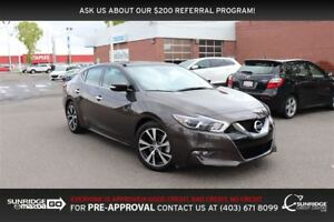 2017 Nissan Maxima SL, LEATHER, NAVIGATION, BACKUP CAMERA