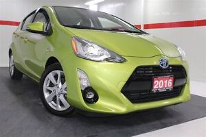 2016 Toyota Prius c Technology Heated Lthr Nav Sunroof Btooth BU