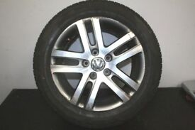 original volkswagen alloys set