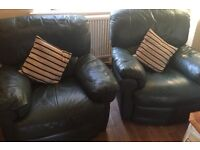 3 piece recliner sofa and two chairs