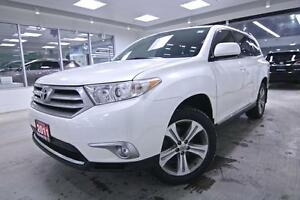 2011 Toyota Highlander SPORT, LEATHER, ROOF, ALLOYS, ONE OWNER,