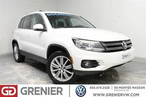 2013 Volkswagen Tiguan HIGHLINE+4MOTION+TOIT