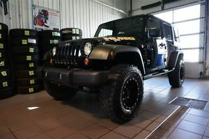 2010 Jeep WRANGLER UNLIMITED Sport ,A/C 2 TOITS,UNIQUE,,MAGS AVE