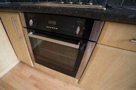 CDA Integrated Electric Oven SA227SS Black/Chrome