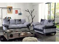 HIGH QUALITY Byron available in corner /3 + 2 JUMBO CORD sofa unbelievable price EXPRESS DELIVERY