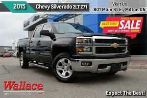 2015 Chevrolet Silverado 1500 LT 2LT/1-OWNER/ACCIDENT-FREEV8/Z71