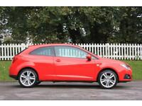 SEAT IBIZA 1.2 TSI SPORTRIDER DSG 3d AUTO 103 BHP RAC WARRANT (red) 2012