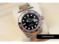 Rolex GMT Master II 2018 New Release Rose Gold Baselworld 126711