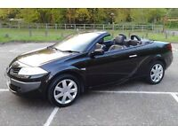 """Here Comes The Sun"" 56 Plate Renault Megane 1.6 Convertible, Newly MOT'd, Fully Equipped, Superb"