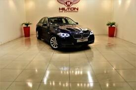 BMW 5 SERIES 2.0 520D SE 4d AUTO 188 BHP + SAT NAV + AIR CON + HEATED LEATHER SEATS (black) 2014