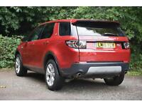 Land Rover Discovery Sport SD4 HSE (red) 2015-04-24