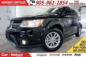 2016 Dodge Journey SXT| NOT A RENTAL| DUAL CLIMATE| FOGLIGHTS &