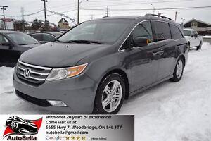 2011 Honda Odyssey Touring NAVI DVD 8 PASS Leather No Accident
