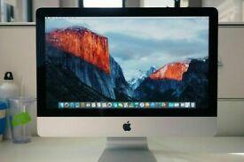 Slim Apple iMac 21.5 ' i5 Quad Core 2.7Ghz 8GB Ram 1TB HDD Logic Pro X Ableton Cubase Waves iZoTope