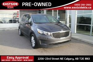 2017 Kia Sedona LX 8 Seater Bluetooth Heated Seats