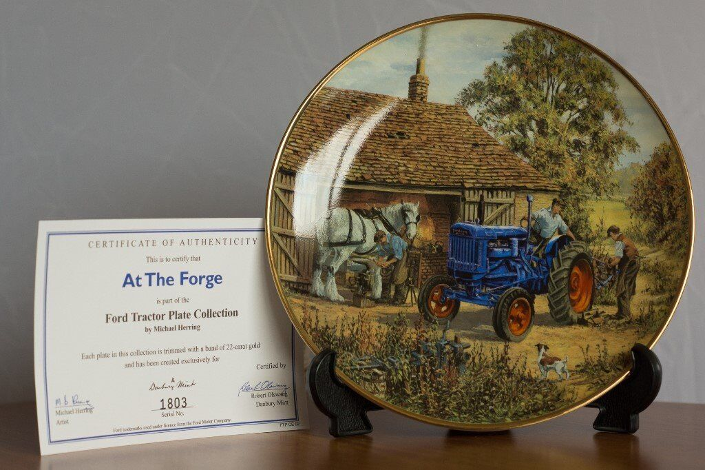 Collector Plate from 'Ford Tractor Plate Collection' by Michael Herring